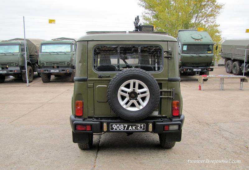 Russian UAZ vs American Scorpion And More