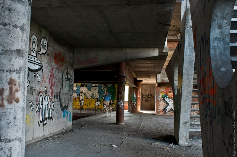 A Tour Of Russian Abandoned Facilities