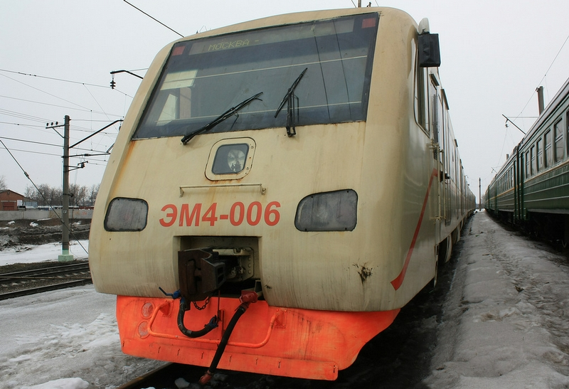 Abandoned Electric Trains