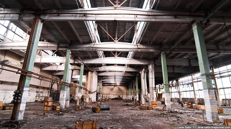 Abandoned Plant That Used to Make Gas Masks