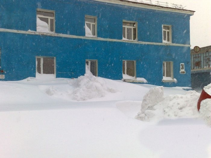 After the Abnormal Snowfall
