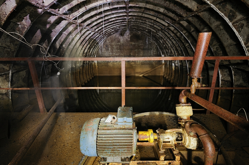 In the Abandoned Atmospheric Collider