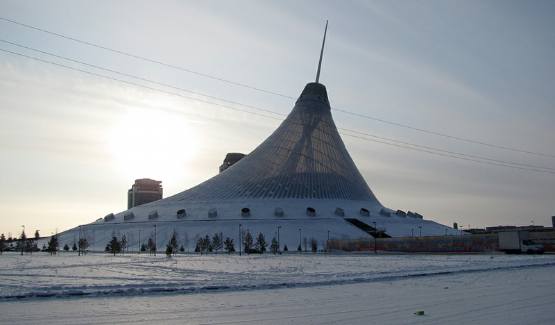 Giant Constructions Of Astana