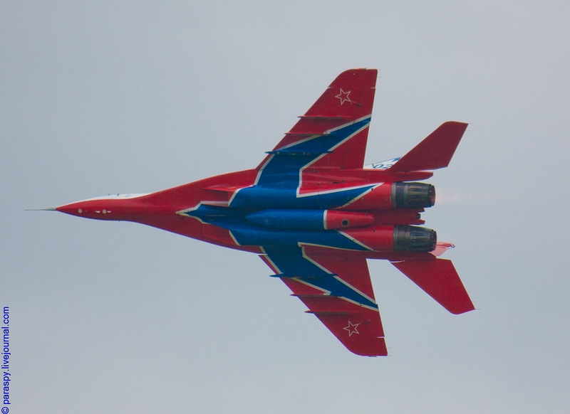 Show of the Russian Aerobatic Teams