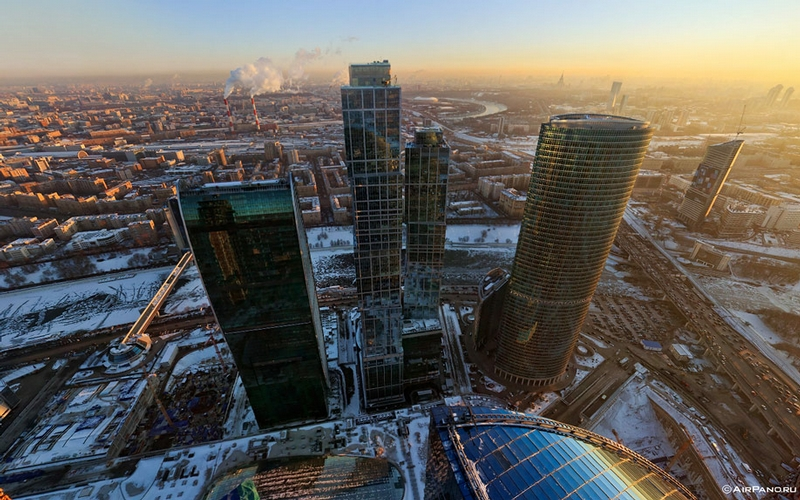 Skyscrapers Of Moscow