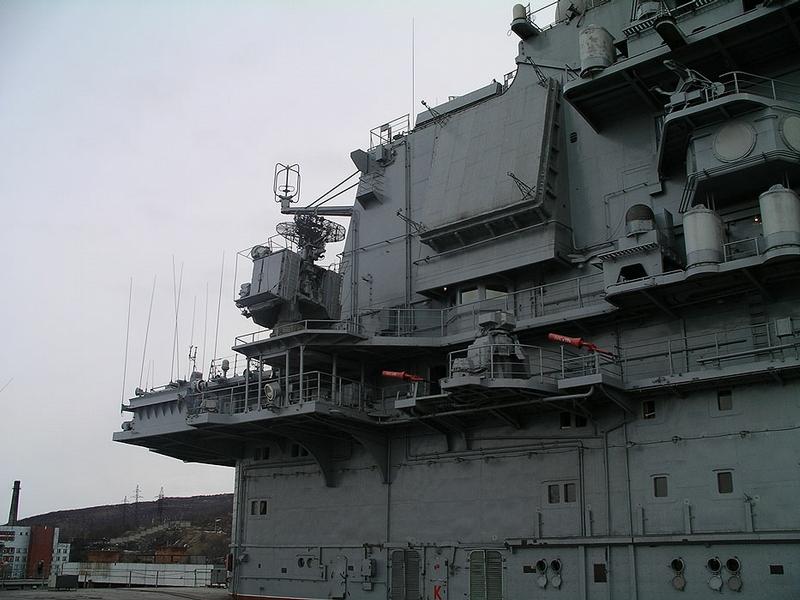 Ill Fame Of The Aircraft Cruiser Admiral Kuznetsov