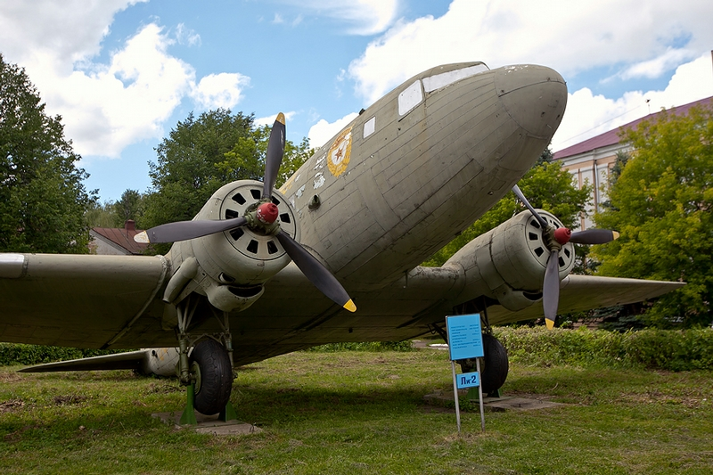 The Museum of the Military Soviet Aircraft