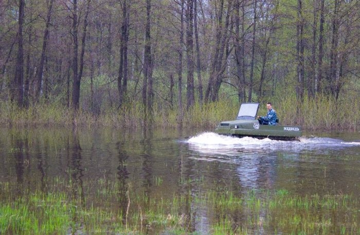 The All Terrain Vehicle Fishermen And Hunters Dream About