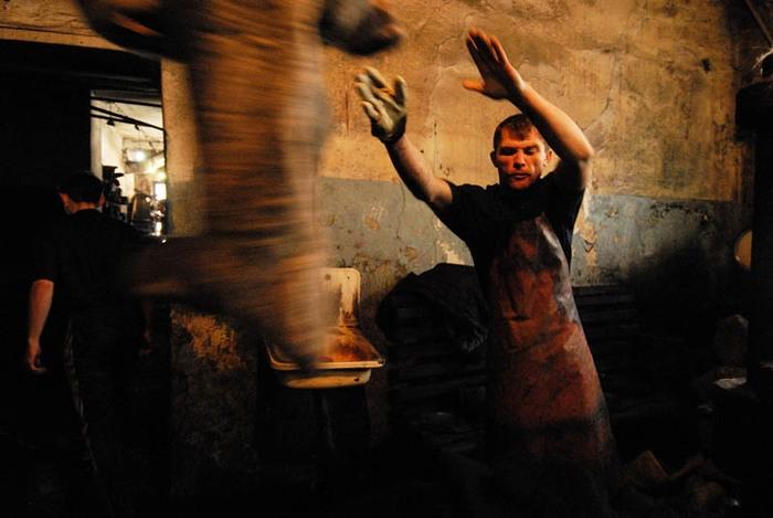 Altai Felt Boots Production