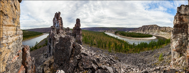 The Wild Twisted River of Russia