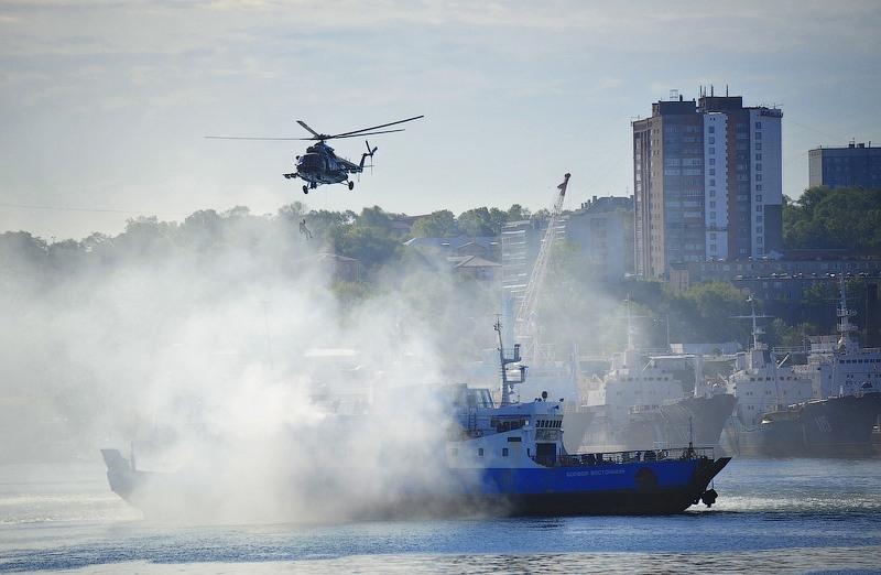 Antiterrorism Training In Vladivostok