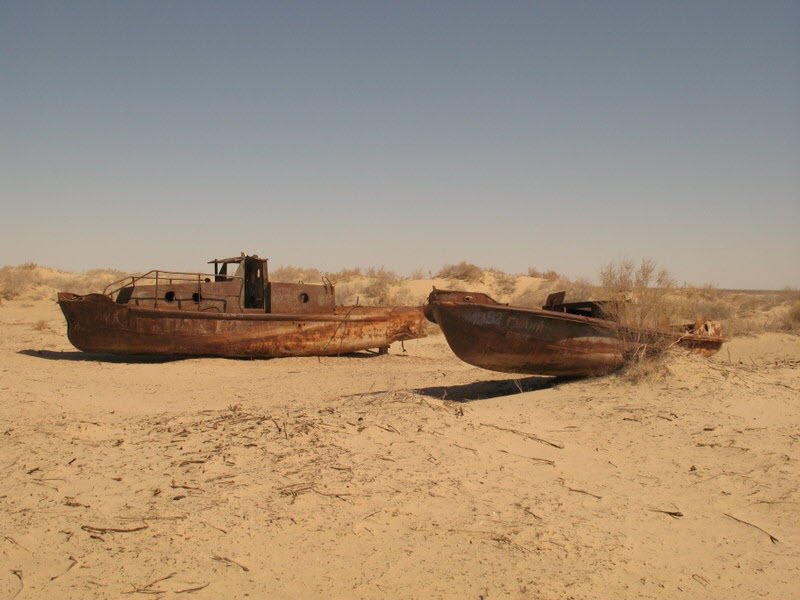 The Aral Sea is imposs...
