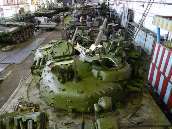 The Story of One Armor Repair Plant