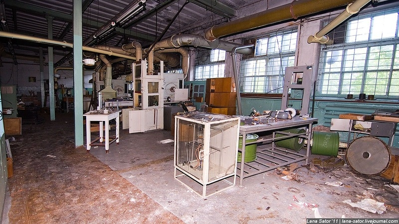 Abandoned Assembly Line of Filtration Units