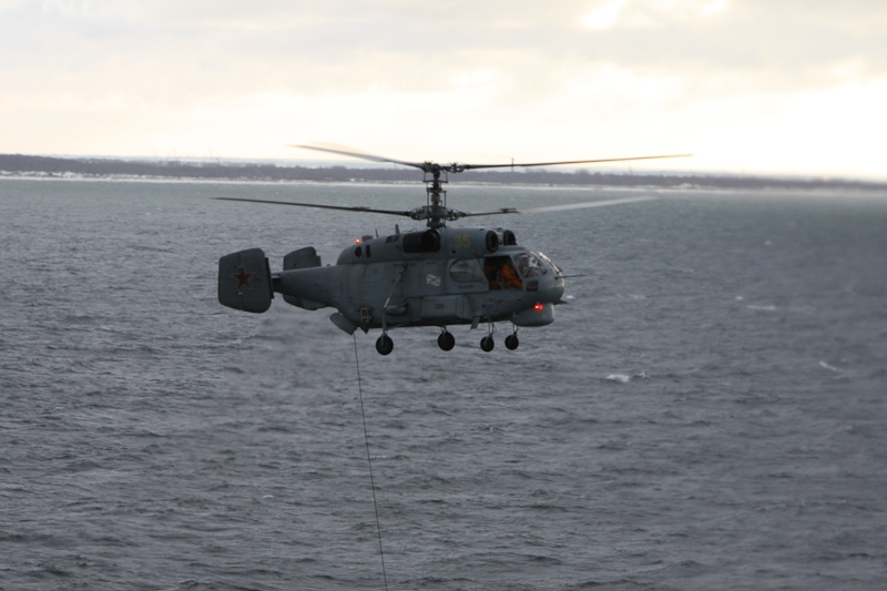 Training Flight of ASW Helicopters