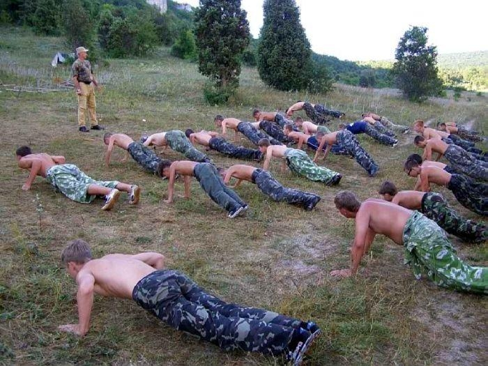 Austere Military Camp For Teens