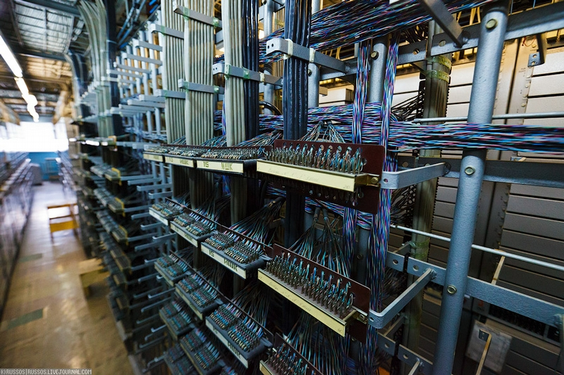 Automatic Telephone Exchange In Kaliningrad