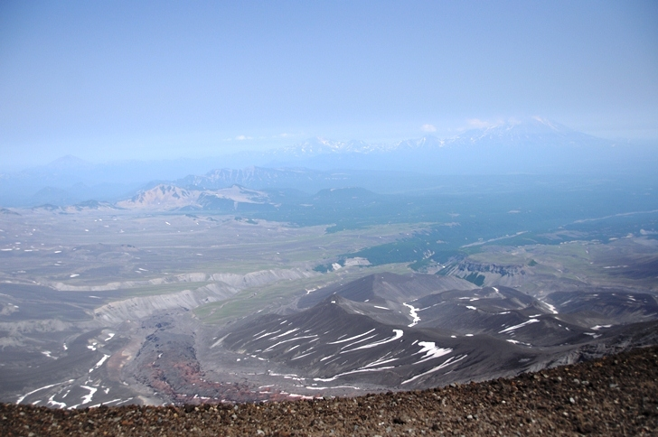 To the Top of the Volcano