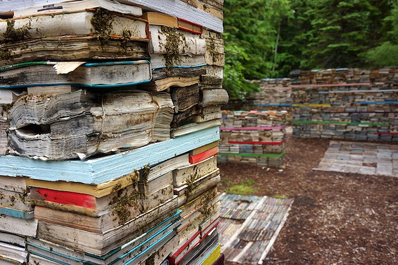 Books Go Back to Nature