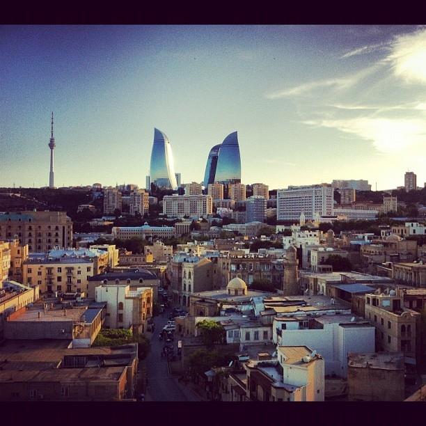 Baku Shot With a Cellphone