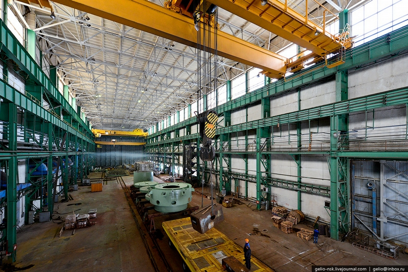 Two Large Russian Shipyards