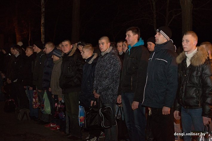 One Day of the Recruit Who Voluntarily Joined The Belorussian Army