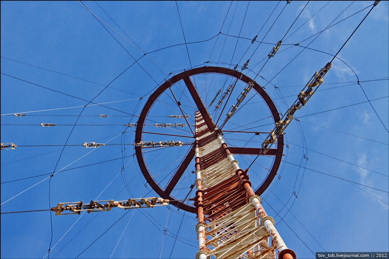 Climbing the Radio Tower In Kiev