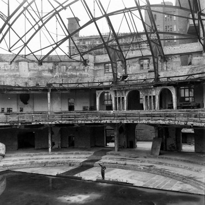 The Bunker Of Hitler in April 1945