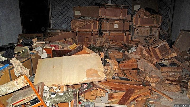 Abandoned Storage-Bunker