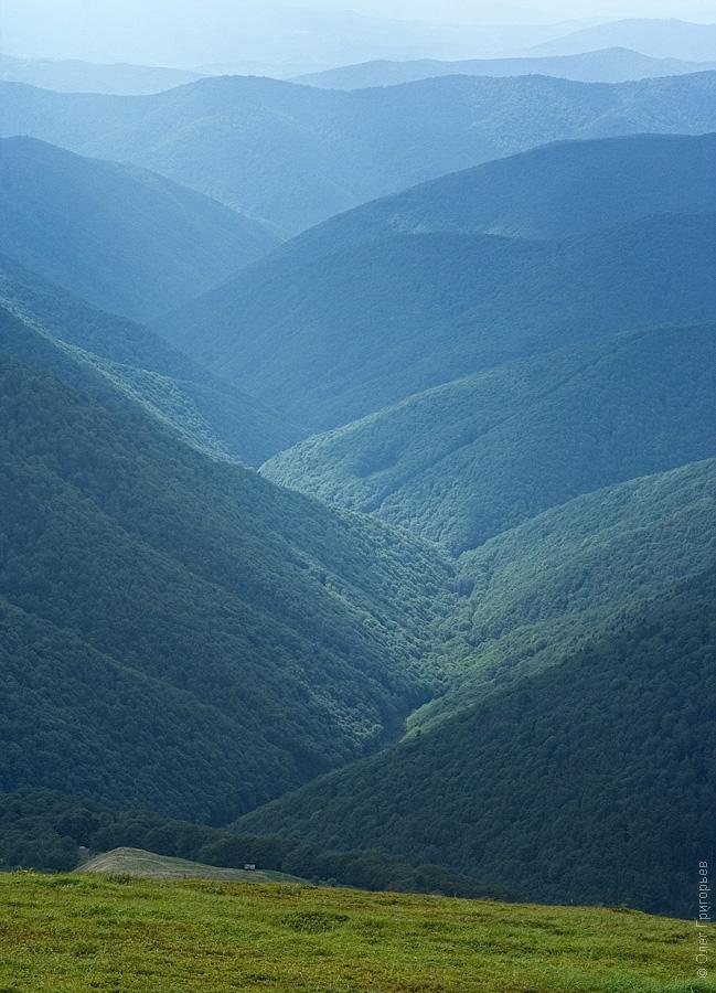 The Carpathians In Summer