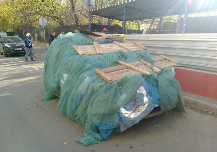 How to Protect a Car Standing At the Demolition Site?