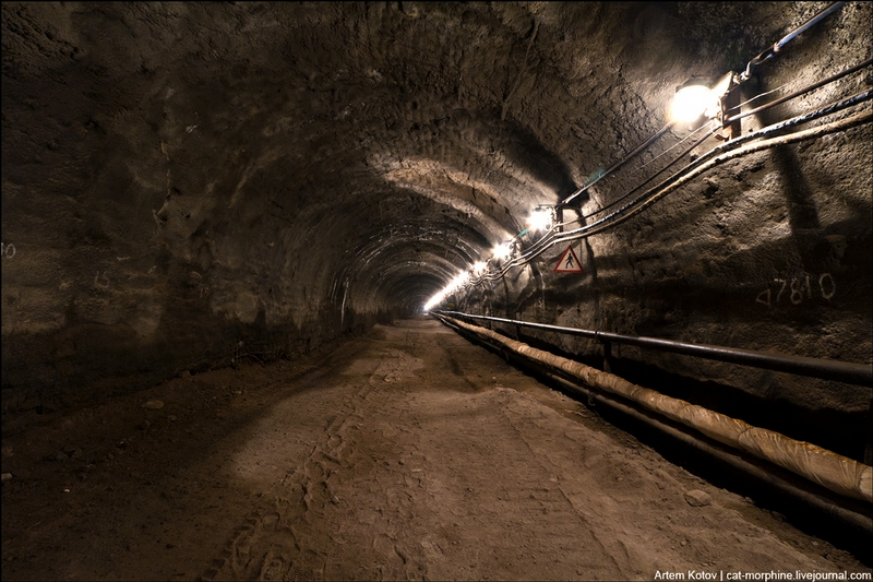 One of the Deepest Russian Tunnels