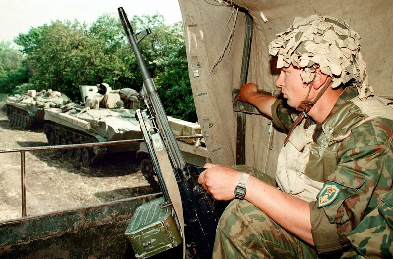 The First Chechen War In Photos of A. Nemenov