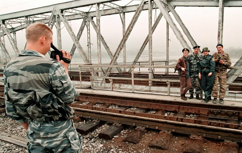 The First Chechen War In Photos of A. Nemenov