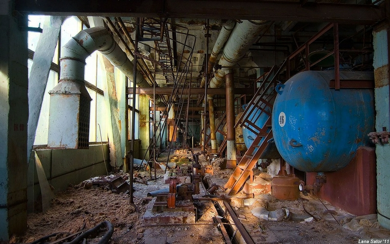 Abandoned Chemical Weaponry Plant