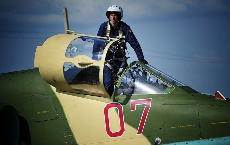 Attack Planes Training In Chernigovka