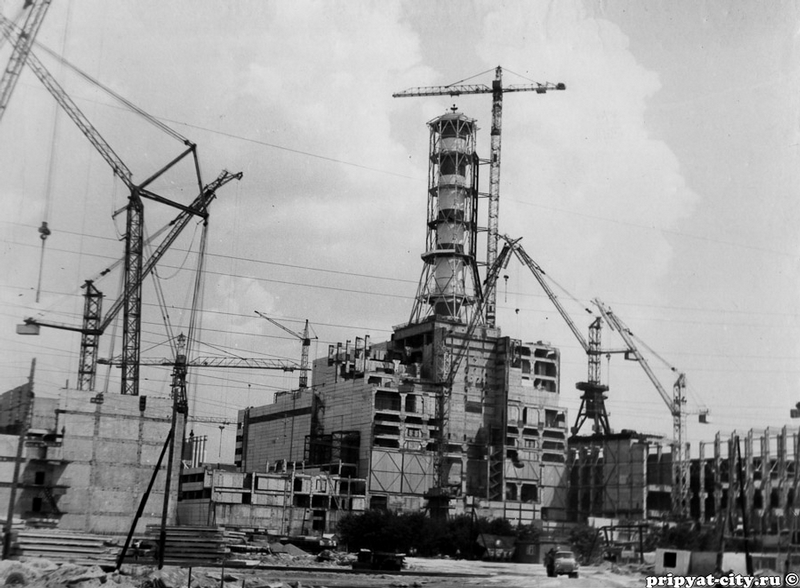 Reactor #4 Of The Chernobyl Nuclear Power Plant