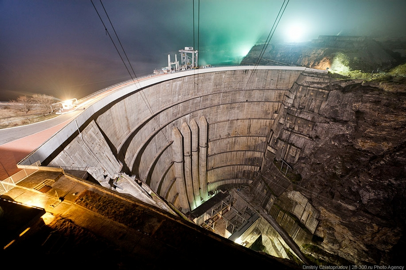 The Highest Arch Dam In Russia