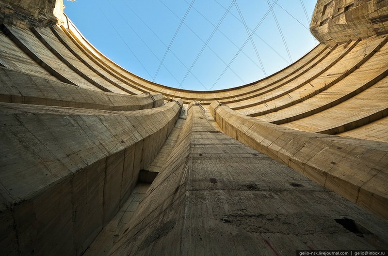 The Tallest Arch Dam In Russia