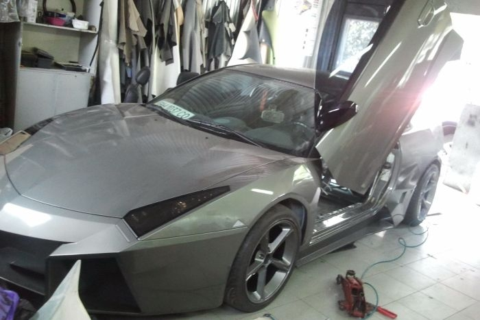 A Copy of Lamborghini From Ukraine