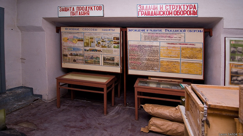 Well-Maintained Bomb Shelter In Belarus