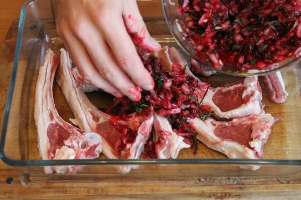 Lamb in Cranberry Marinade 15