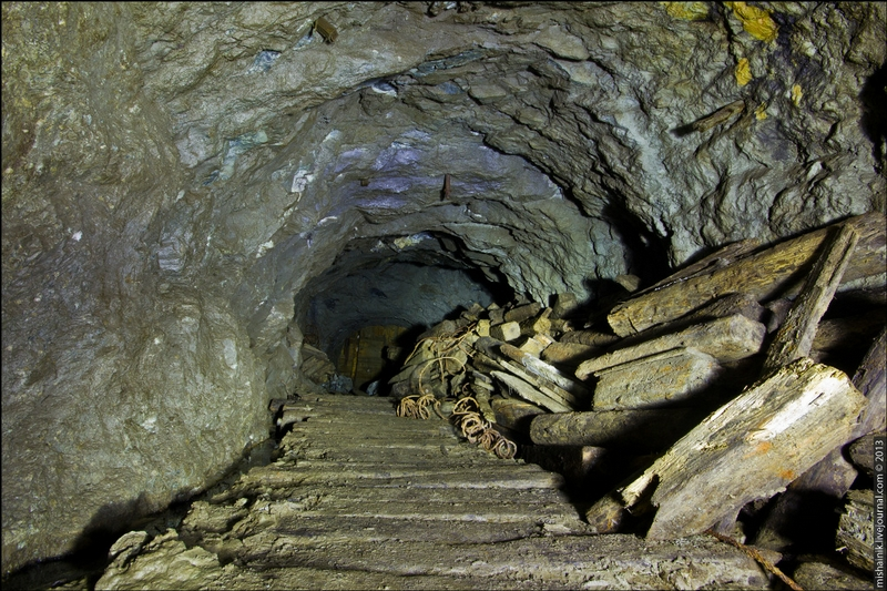 Rapidly Crumbling Abandoned Mine