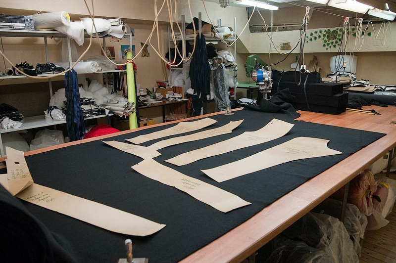 Production of Down Jackets