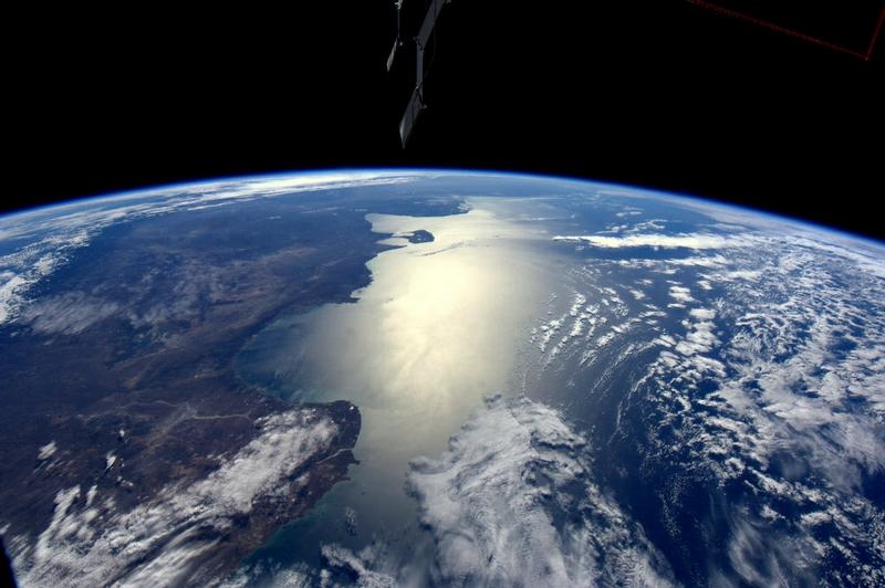 Space Photos From a Dutch Austonaut