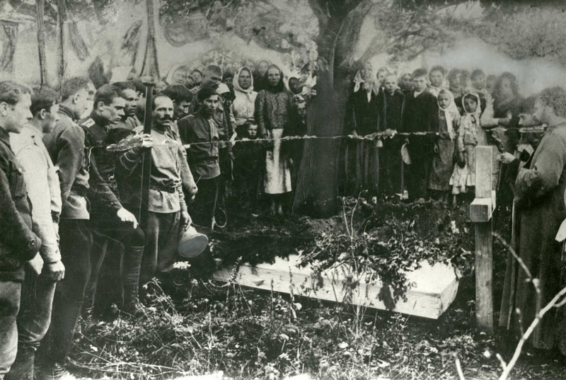 At the Eastern Front of WWI, 1914-17
