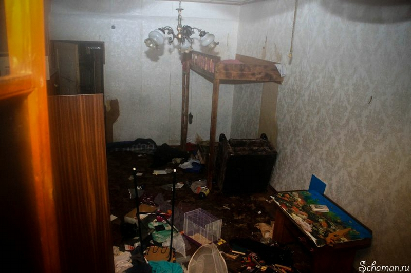 House Which Residents Have Been Evicted