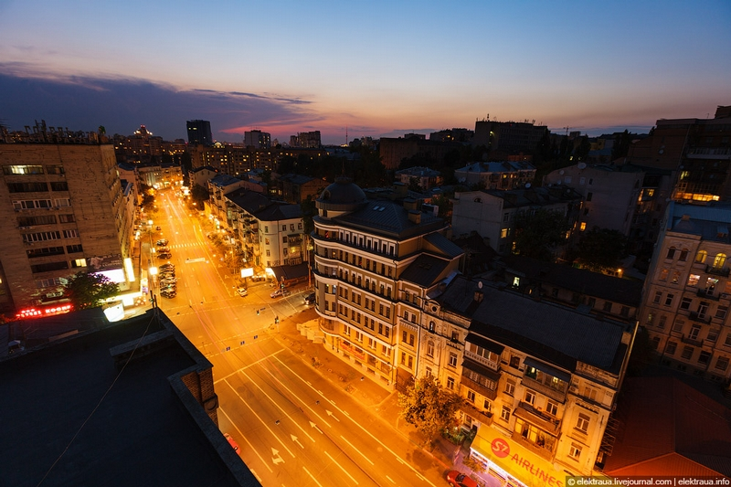 Summer Night In Kiev