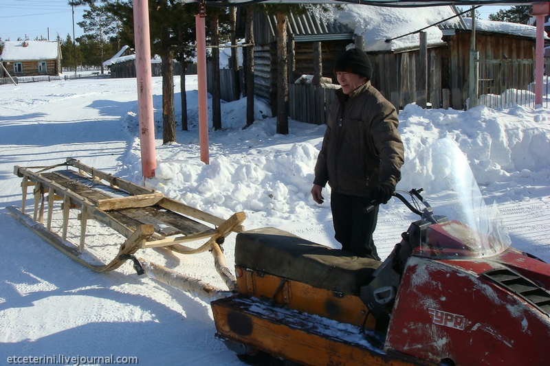 Expedition Great Northern Route. On Snowmobiles To The Center Of The USSR