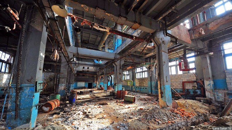 Abandoned Factory of Detergents
